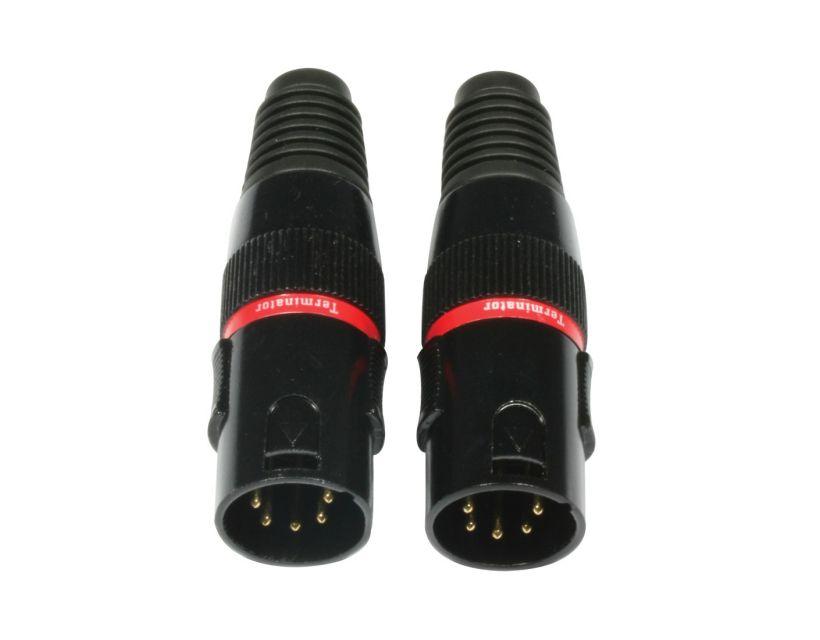 Accu-Cable AC-DMXTERM-5/SET DMX terminator 5pin SET