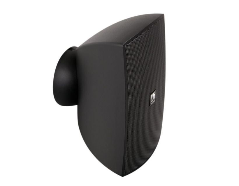 """Audac Wall speaker with CleverMount™ 6"""" Black version - 8Ω and 100V"""