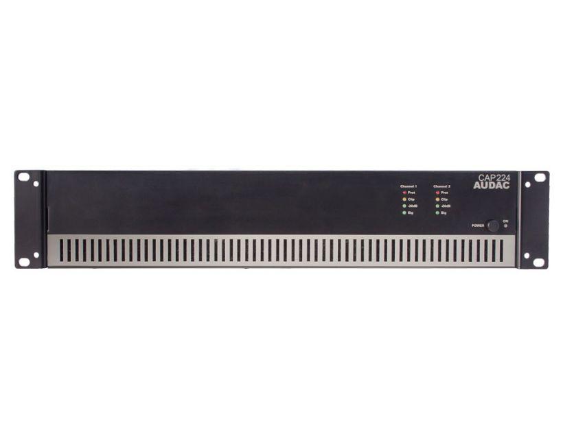 Audac Dual-channel power amplifier 2 x 240W 100V