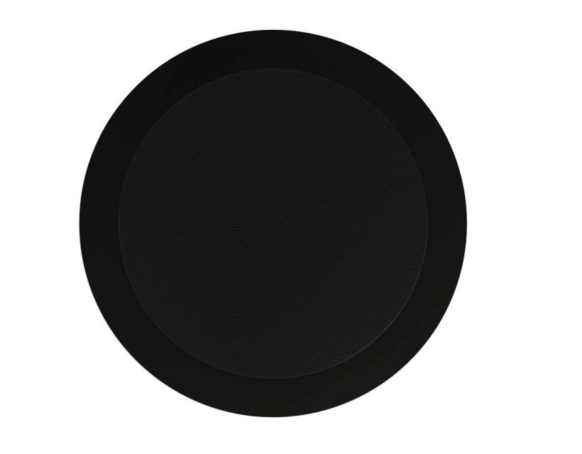 "Audac Quick-fit™ dual cone 5 1/4"" ceiling speaker 8 Ohm/100V Black version 8 Ohm/100V"