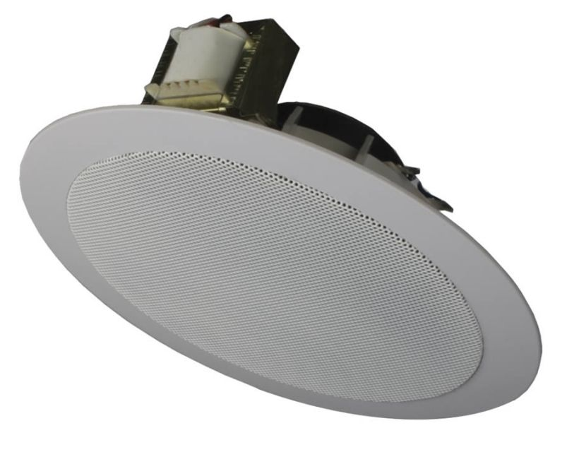 Audac Spring Fit Ceiling Speaker  6 W/100v - White