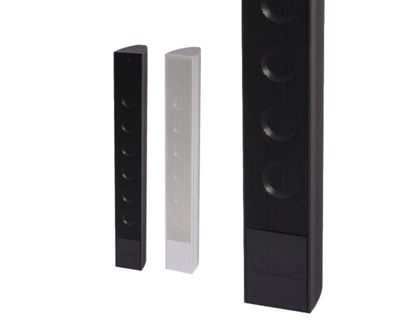 "Audac Design column speaker 6 x 2"" Black version"