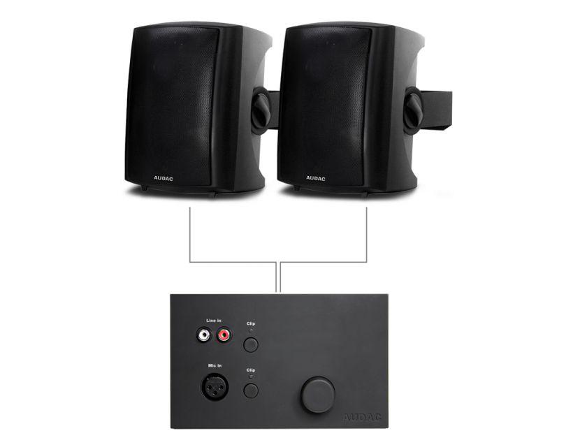 Audac 2x LX523 + WP523 Black version