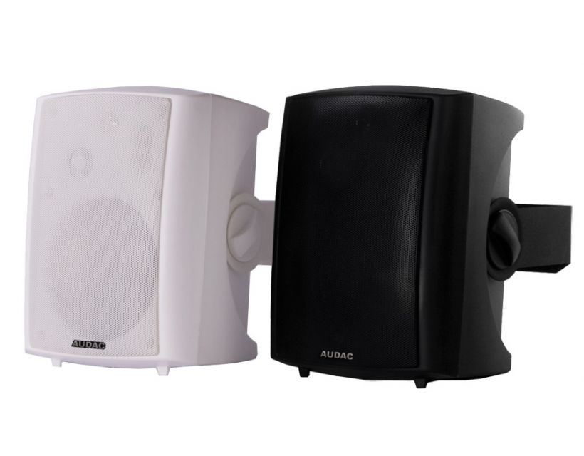 Audac Active speaker system with remote input Black version