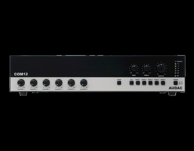 Audac Public address amplifier 120W 100V Mk2 version