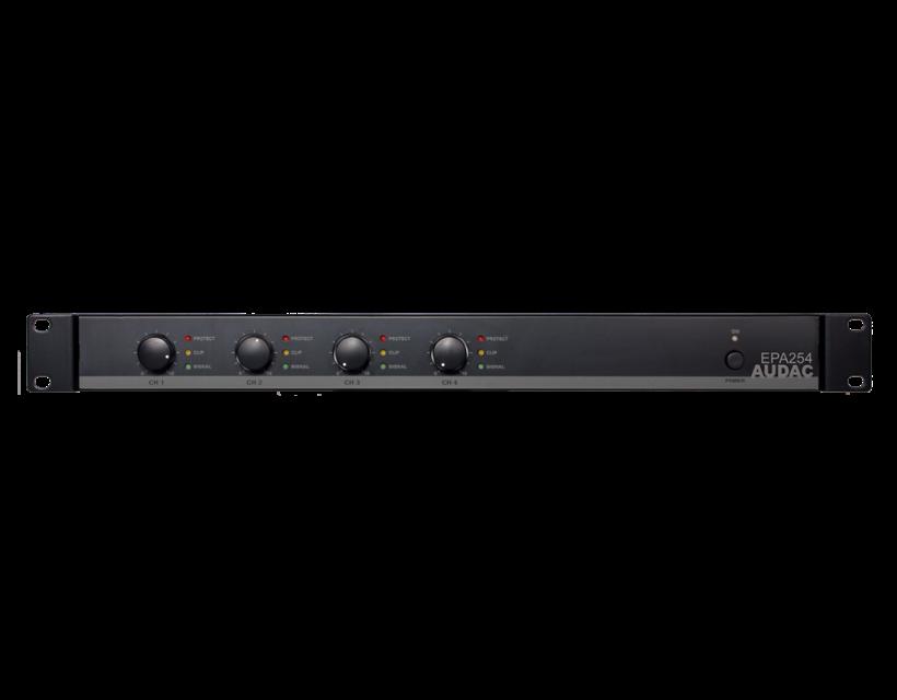 Audac Quad-channel Class-D amplifier 4 x 250W - crossover