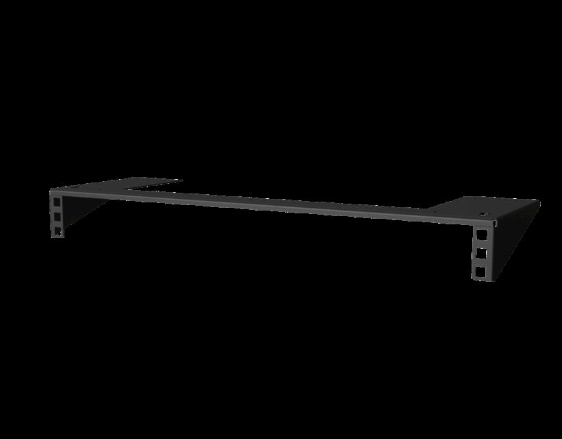 "Caymon 19"" Under Desk Mount Bracket (Black)"
