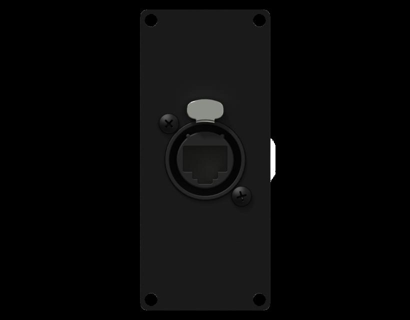 Caymon Casy 1 Space Ethercon To Rj45 - Black