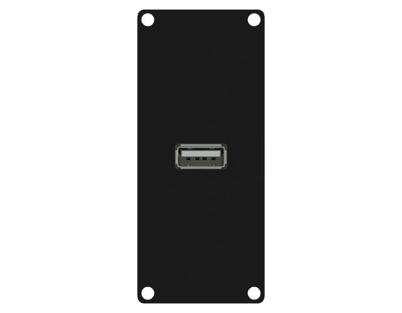 Caymon Casy 1 Space USB 2.0 A To 4-Pin Tb - Black