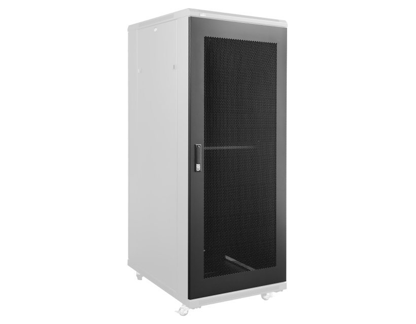 Caymon Perforated Grill Door For 27U Spr Rack Cabinet