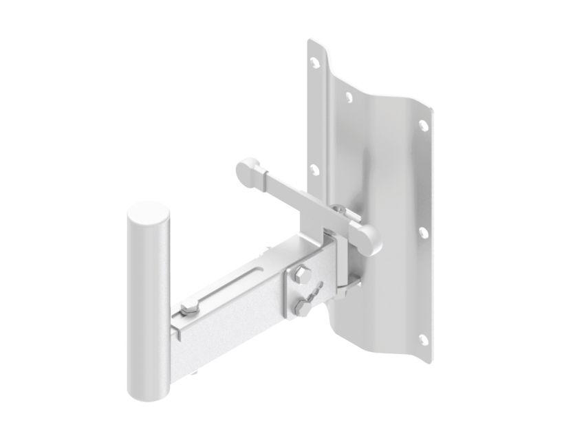 Caymon Speaker Wall Mount Bracket - 35mm Pole - 250mm - White