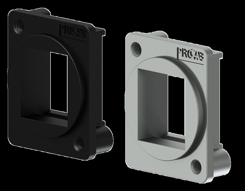 Procab D-size keystone adapter Black