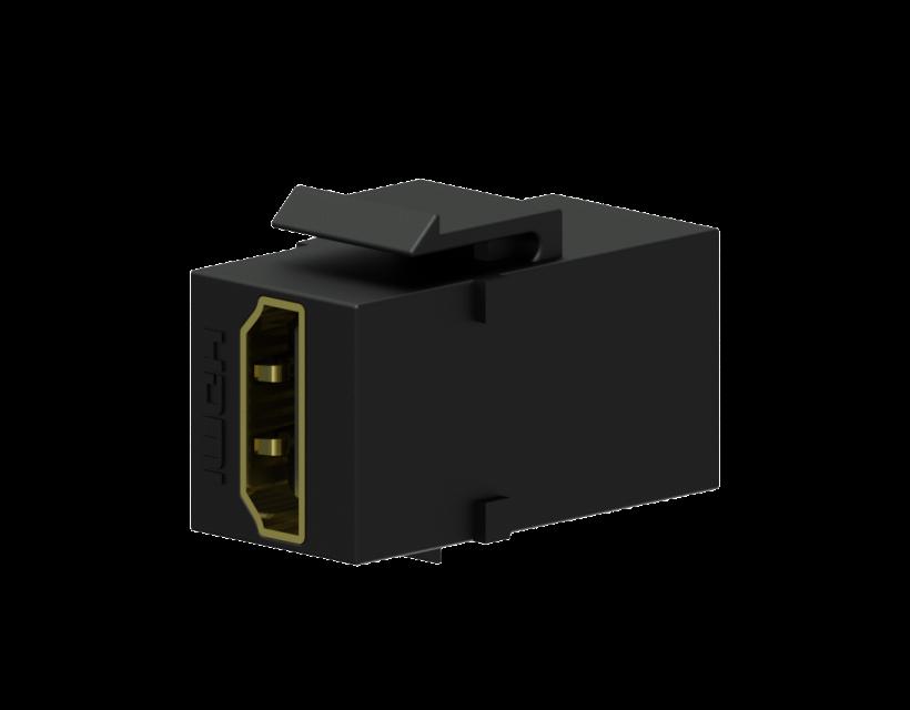 Procab Keystone adapter - HDMI A female - HDMI A female Black