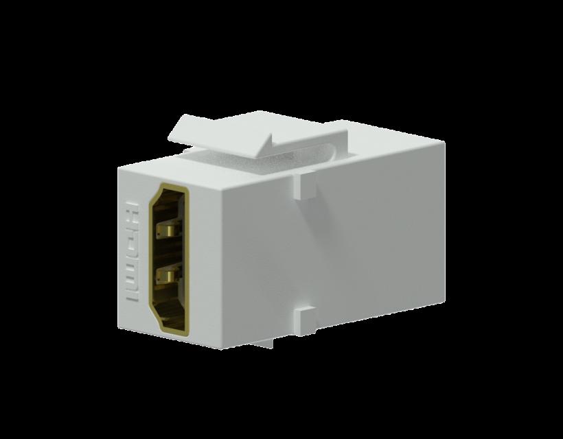 Procab Keystone adapter - HDMI A female - HDMI A female White