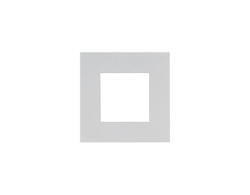 Audac Cover frame single 45 x 45 mm White version