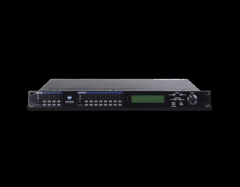 RCF DX 4008 4 IN 8 OUT Digital speaker processor