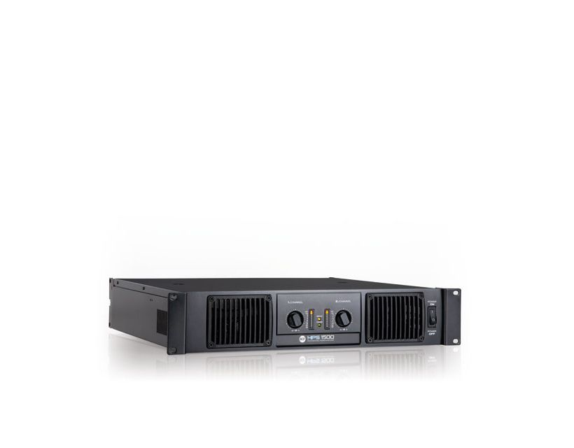 RCF HPS 1500 Class H power amplifier - 2x750 W RMS @ 4 ohm