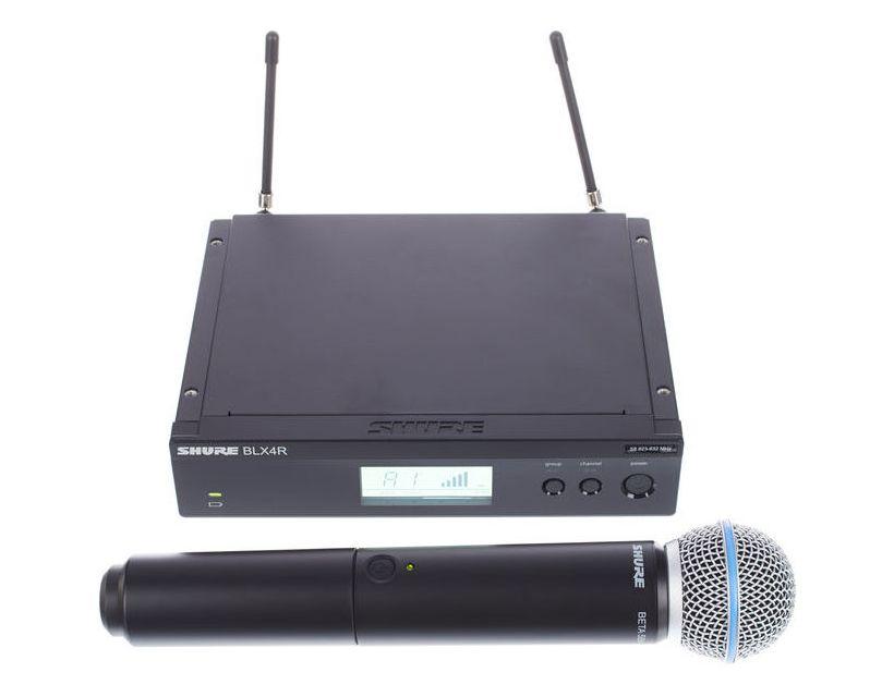 Shure BLX24RE/B58 M17 (662-686 MHz)