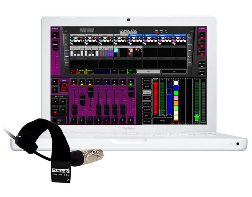 Visual Productions Cuelux DMX interface