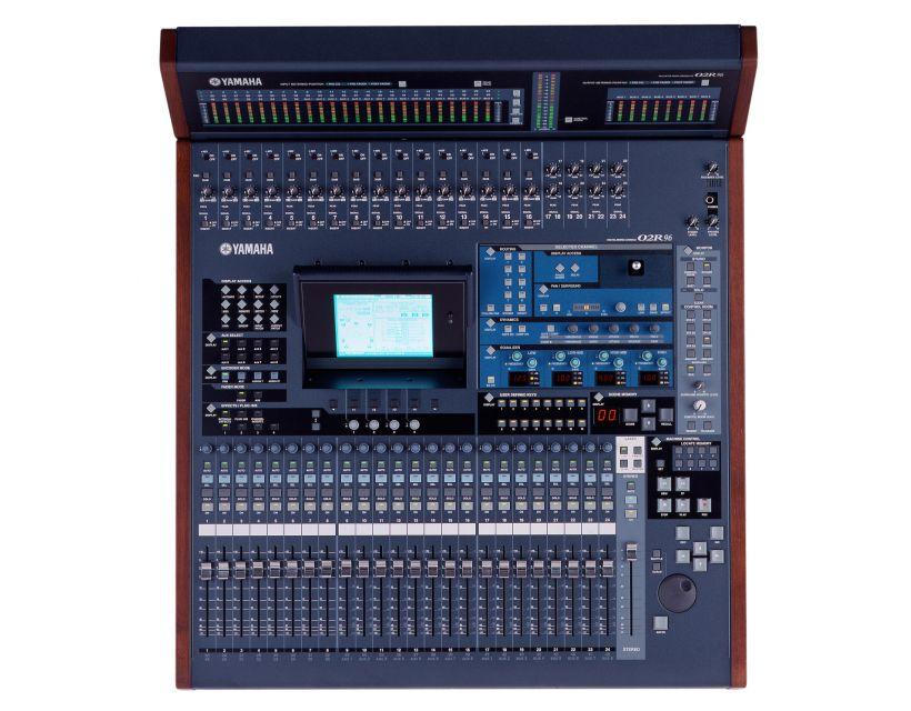 Yamaha 02R96VCM digital recording mixer