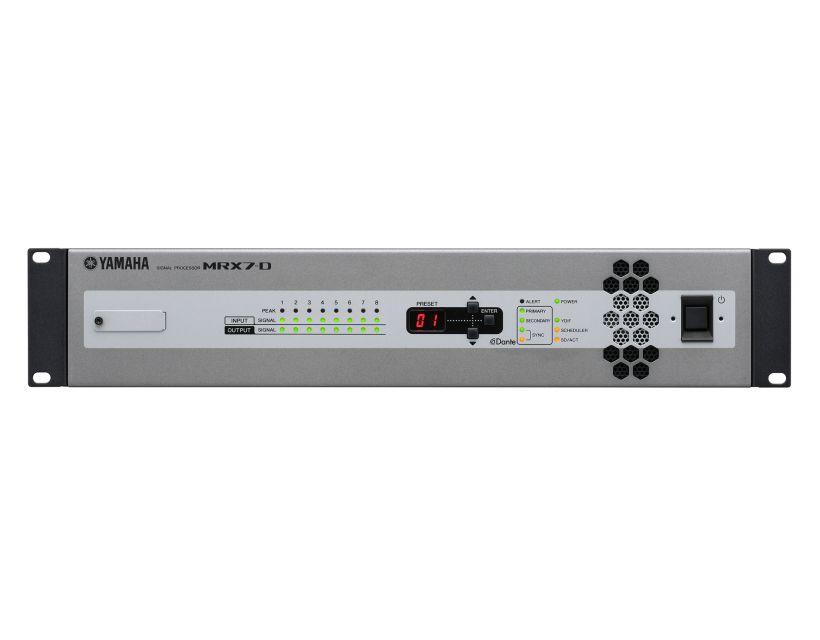 Yamaha MRX7D signal processor
