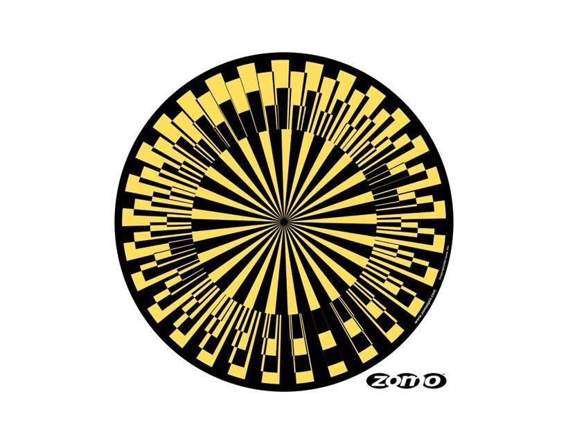 Zomo Slipmat Scope yellow (pair)