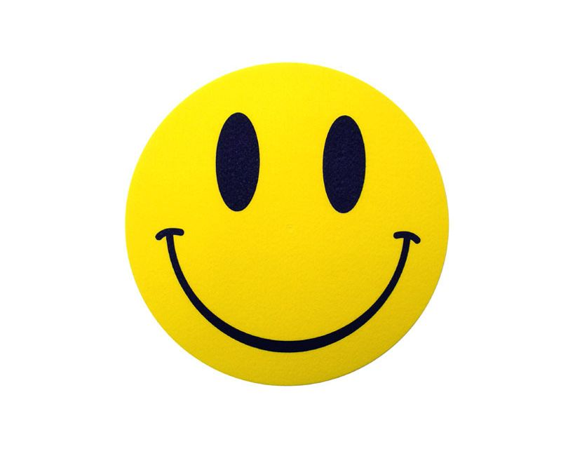 Zomo Slipmat Smiley (paar)